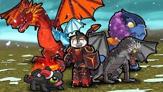 A Minecraft Dragon Movie
