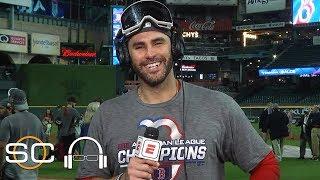 J.D. Martinez talks Red Sox Game 5 win, David Price's performance | SC with SVP