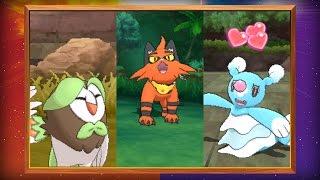 Evolved Forms of the Starter Pokémon Revealed in Pokémon Sun and Pokémon Moon! by The Official Pokémon Channel