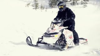 8. 2012 Ski-Doo Freeride Snowmobile Review