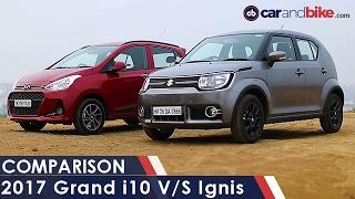Maruti Suzuki Ignis vs Hyundai Grand i10 - NDTV CarAndBike