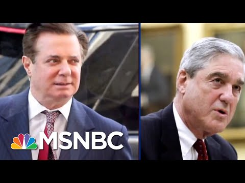 Jailed Paul Manafort Reportedly Cutting Bob Mueller Deal   The Beat With Ari Melber   MSNBC