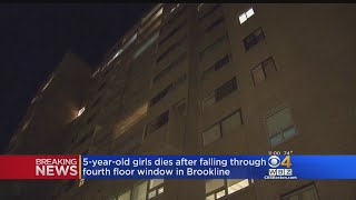 Girl Dies After Falling Through Brookline Window