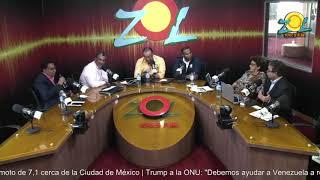 Ing. Francisco Holguín, de Onamet comenta sobre lo ultimo del Huracán María 19-9-2017