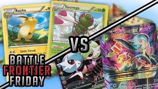 Pokémon Cards - Yanmega/Raichu vs M Gardevoir EX | Battle Frontier Friday #9! by The Pokémon Evolutionaries
