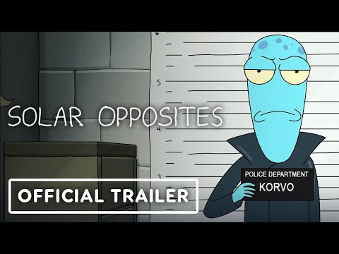 Solar Opposites: Season 2 - Exclusive Official Trailer (2021) Justin Roiland, Thomas Middleditch