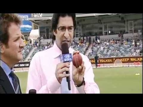 Wasim Akram on How to Swing the Ball as a Fast Bowler