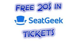 SeatGeek Promo Code - Sports, Concerts, etc. - 2019