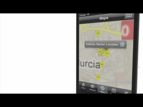 Video of Universidad de Murcia App