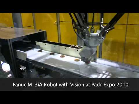 Fanuc M-3iA Robot With Vision