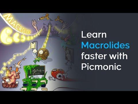Learn Macrolides Faster with Picmonic (NCLEX®, Nursing School)
