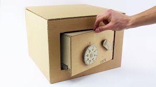 Video How to Make Safe with Combination Lock from Cardboard MP3, 3GP, MP4, WEBM, AVI, FLV September 2018