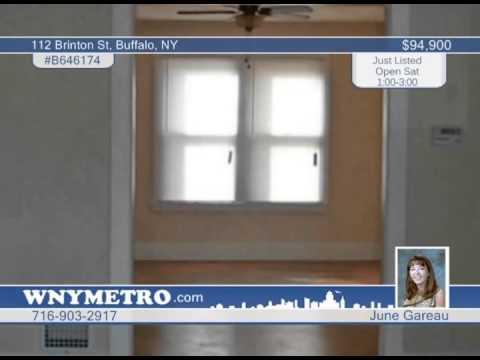 112 Brinton St  Buffalo, NY Homes for Sale | wnymetro.com