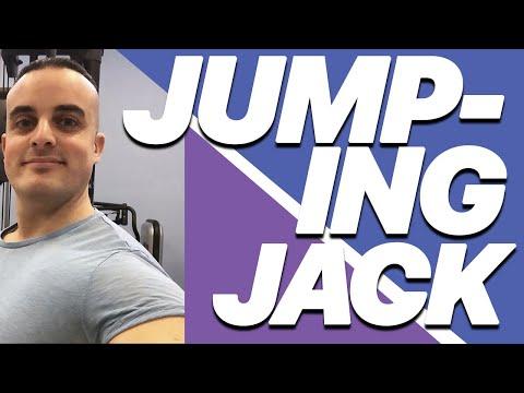 Esercizi Total Body a Corpo Libero: Jumping Jack
