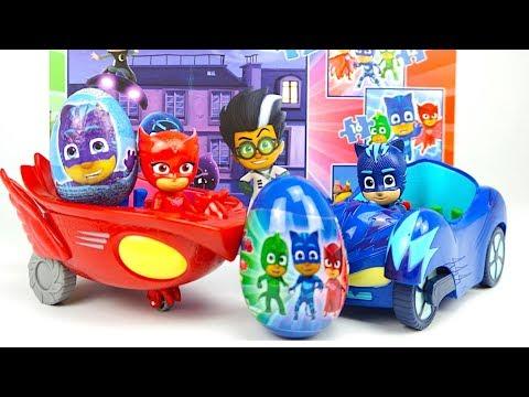 Герои в масках сюрпризы и игрушки развивающее видео - DomaVideo.Ru