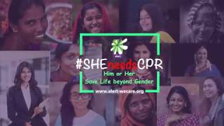 I support #SHEneedsCPR – Ramesh Aravind