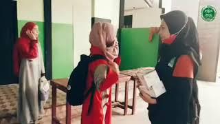LPBI NU Kalbar Medistribusikan 10.000 Masker Kepada Warga Terdampak Asap