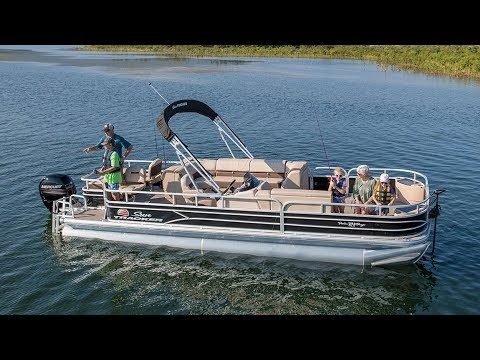 SUN TRACKER Boats: FISHIN' BARGE 24 DLX Fishing Pontoon