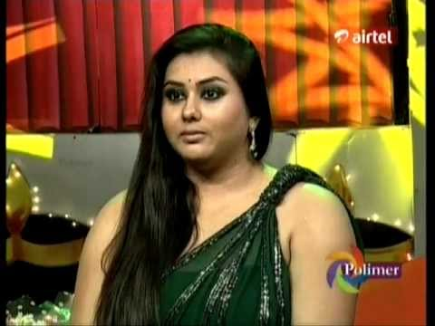 Namitha Showing Her Huge Clevage At Tv Show
