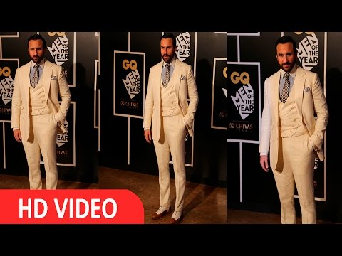 Saif Ali Khan At Red Carpet Of GQ Men Of The Year Awards