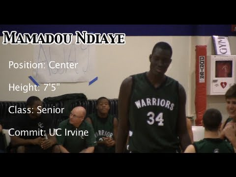 7'5″ Mamadou Ndiaye 30 Points vs. Garden Grove
