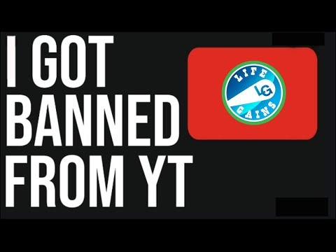 Banned From YouTube - Lamont Tyson Banned From Youtube and Brought Back. What To Do If They Ban You?