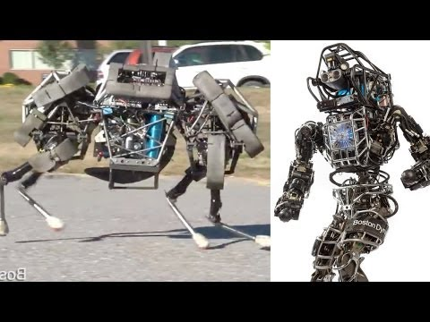 The latest military robot