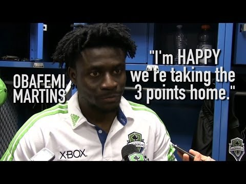 Video: Interview: Obafemi Martins at Chivas USA