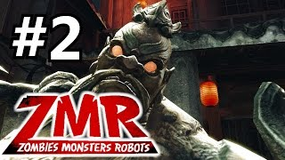 OMG, A HUGE ZOMBIE BOSS!!!▐ Zombies Monsters Robots: Shanghai Surprise▐ Advanced Difficulty