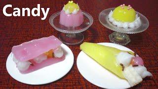popin' cookin' 8 - Crepe shaped Candy Kit 可吃 ASMR