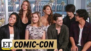 More from Entertainment Tonight: http://bit.ly/1xTQtvw  ET caught up with the cast of the CW hit show during Comic Con in San Diego, California on Friday.