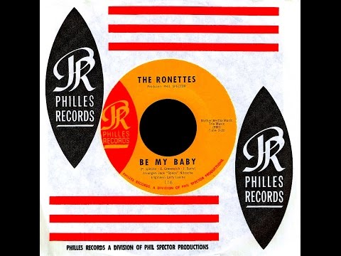 Ronettes - BE MY BABY (Gold Star Studio)  (1963)