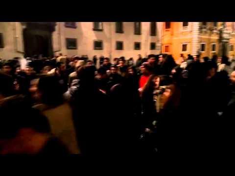 Musica in piazza dei Cavalieri a Pisa pt 1