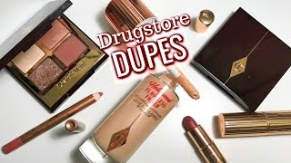 DRUGSTORE DUPES for Charlotte Tilbury Bestsellers by Beauty Broadcast