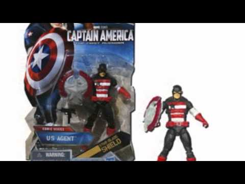 Video Cool product video released on YouTube for the Captain America Movie 4 Inch Series 2