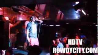 Cory Gunz live with Rowdy City on The Reloaded Tour (Video Performance)