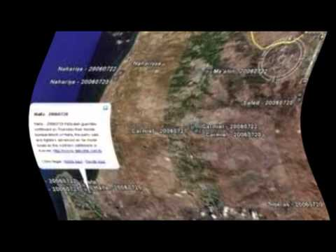 Google Earth no muestra Israel