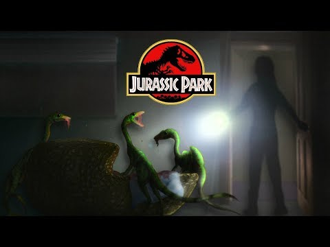 The Most Disturbing Death Scene In Jurassic Park History - Michael Crichton's Jurassic Park