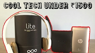 In this video we present some of the best tech under Rs.1500, All the tech products mentioned are available in India and are linked below.Product Mentioned in the Video:-1. Reos lite Smart Bulb:- http://fkrt.it/j7bgwTuuuN2. Logitech H150 Headphone:- http://amzn.to/2nLk2Bj3. HP 7600mAh Power Bank:- http://amzn.to/2otYR594. LeTv All metal Earphone:- http://bit.ly/2k95WG7------------------------------------------Website:- http://wizhub.tech/Tech Deal's:- http://wizhub.tech/deals/------------------------------------------------Pheripheral's that I use to shoot the video's------------------------------------------------My Gear:Microphone:- http://amzn.to/2fh9bvfVideo shot on:- http://amzn.to/2fFfTtETripod:- http://amzn.to/2eFxpv6Laptop:- http://amzn.to/2fFezH7Mouse:- http://amzn.to/2fFMaipMy Powerbank:- http://fkrt.it/HD7geTuuuNStorage:- http://fkrt.it/H8AkQTuuuN-------------------------------------------------Popular Videos:Cool Tech Under Rs.200:- https://youtu.be/cPNS3bon9Z0Cool Tech Under Rs.1000:- https://youtu.be/lR6P_YRBFpgBest Earphone Under Rs.1500:- https://youtu.be/gT8MSLRfnucTech Survival Kit:- https://youtu.be/z5Y7JzKC8Y4Best Budget Smart Tv @ Rs.35,000:- https://youtu.be/wszdeqIAnSQ-------------------------------------------------Music Courtesy:-www.bensound.com &www.incompetech.com