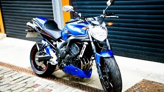10. Brutal Yamaha FZ6 exhaust sound compilation