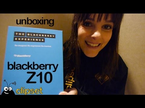 BlackBerry Z10 #BlackBerry10 unboxing