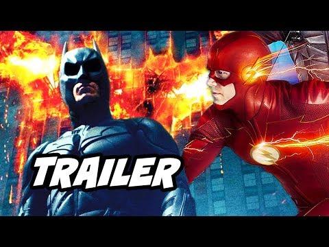 The Flash Season 6 Episode 3 Trailer - Batman and Crisis On Infinite Earths Scene Easter Eggs