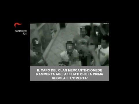 Italien: Dutzende Mafia-Verdächtige festgenommen