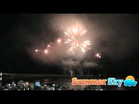 I Fuochi d'Artificio alla Festa di San Vito a Forio d'Ischia 2011