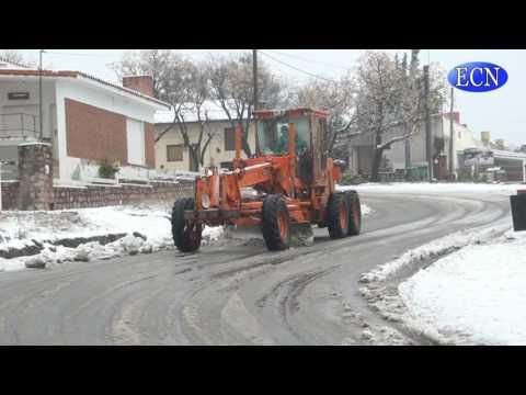 Domingo de nieve y frío en la región