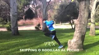 Skipping o rodillas arriba