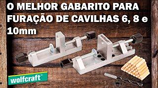 Gabarito Fixador Universal de Cavilhas - WOLFCRAFT