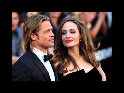 Brad Pitt y Angelina Jolie ya son marido y mujer