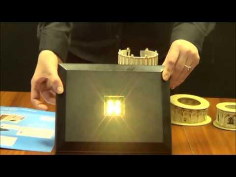 """Трехмерная головоломка-конструктор CUBIC FUN """"Биг-Бен LED"""" (L501h)"""