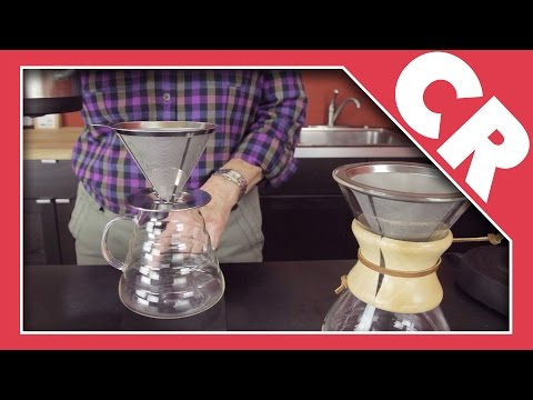 Osaka Coffee Stainless Steel Cone Filters   Crew Review